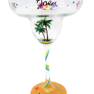 Beach Margarita Glass