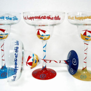 Beach Margarita Glass Set