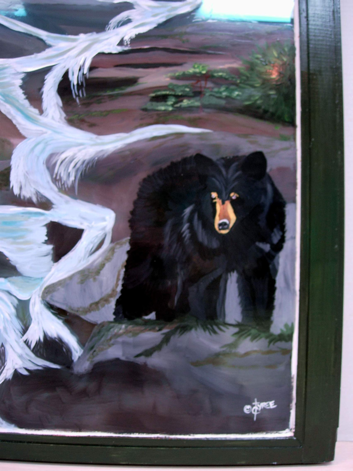Bears Among Us Painting