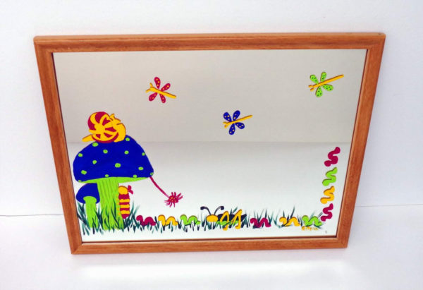 Bug Party Mirror - 15 x12