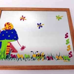 Bug Party Mirror - 15 x12