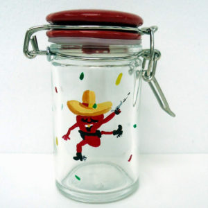 Chili Pepper mini Jar