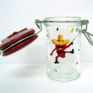 Chili Pepper mini Jar