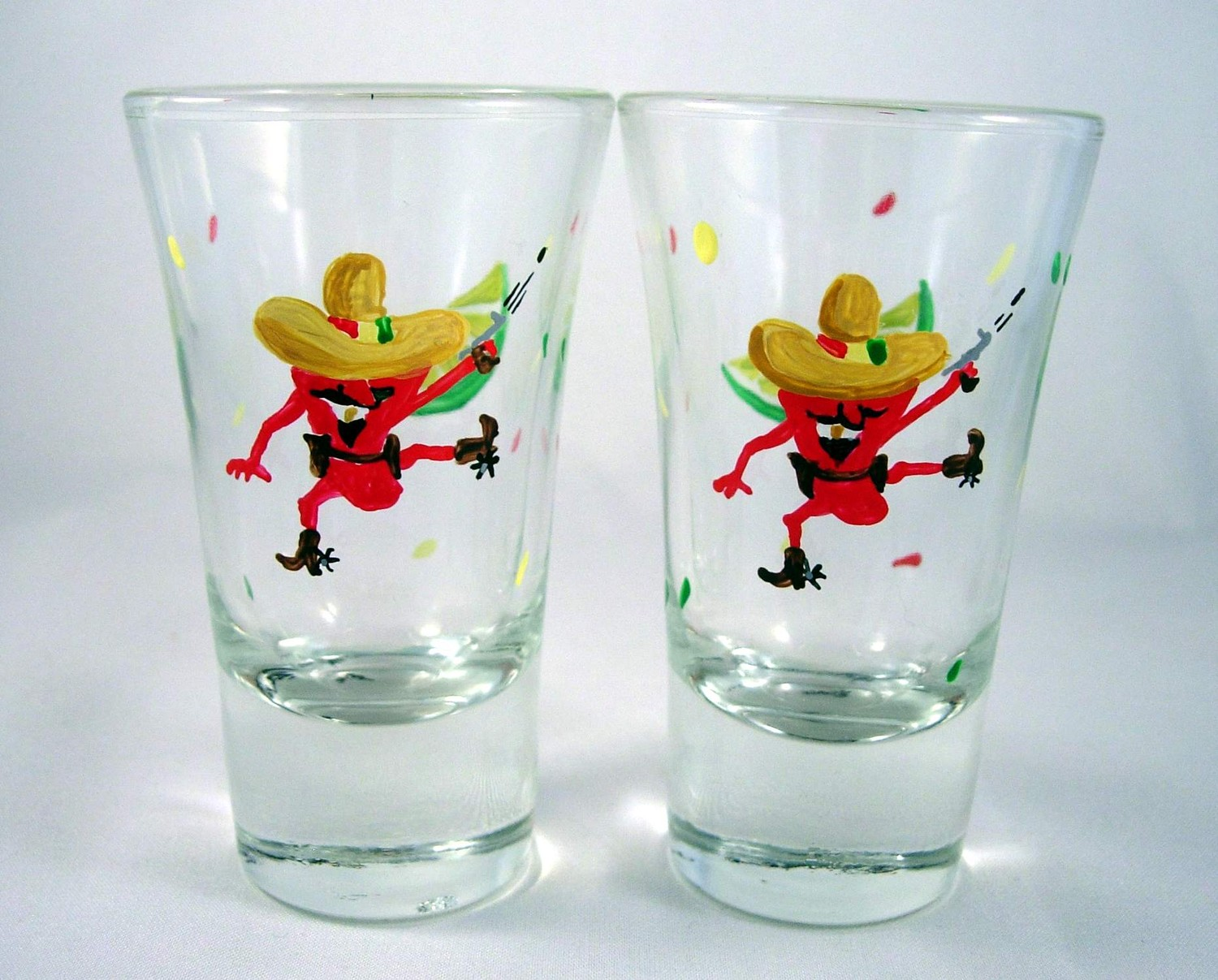 CHILI PEPPER GLASS