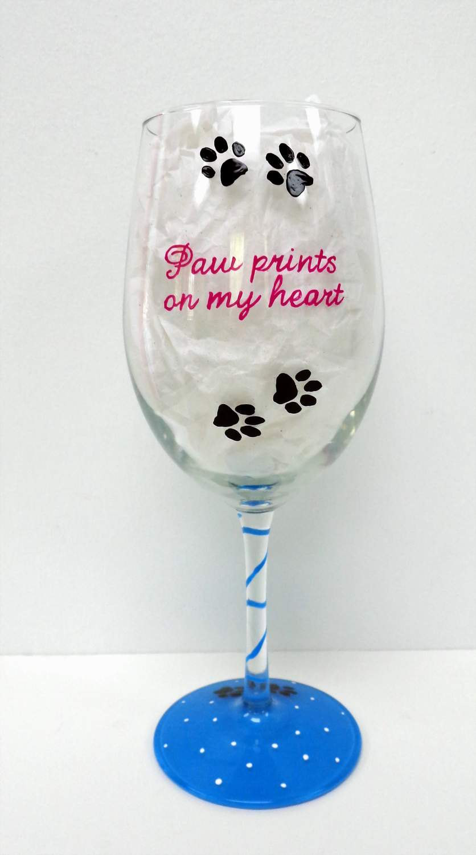 Cat Wine Glass