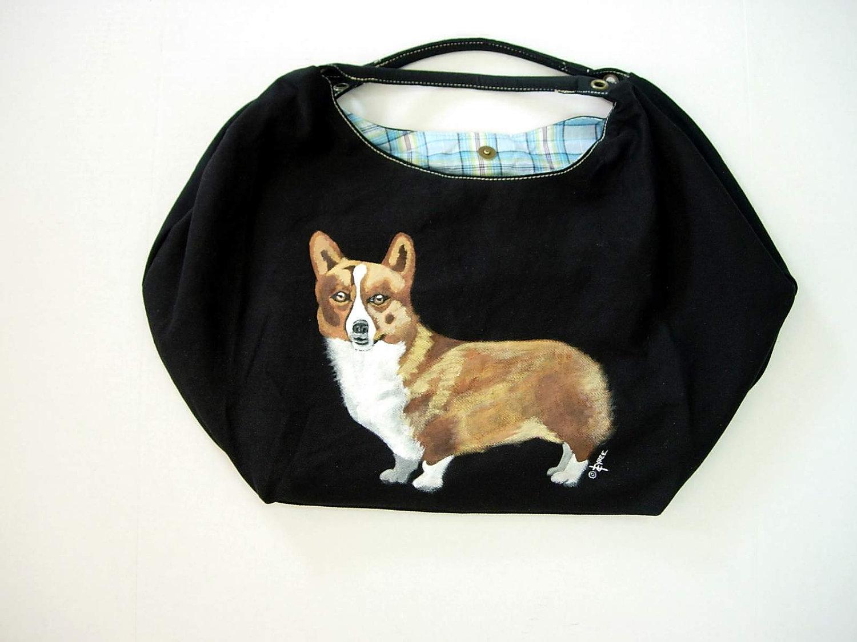 Corgi Dog Bag