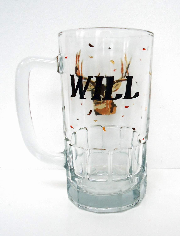 Deer Hunting Glass Mug