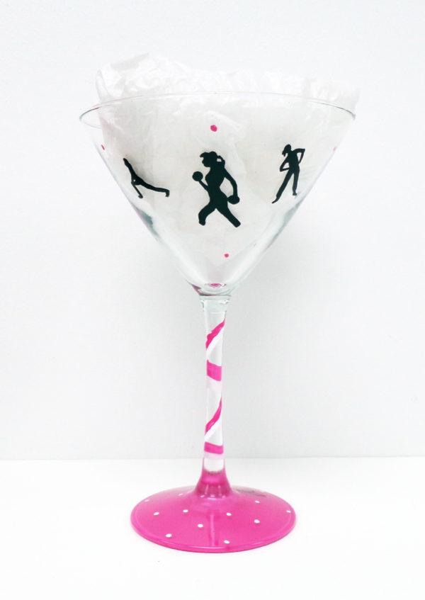 Running Martini Glass