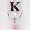 Personalized Wine Glass - Monogram