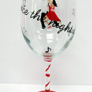 Dance wine Glass
