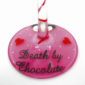 Death By Chocolate Martini Glass
