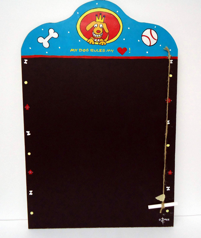 Dog Chalk Board 16 x 24