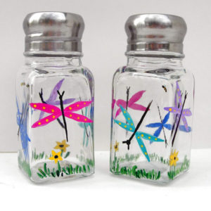Dragonfly Salt and Pepper Shakers