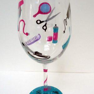 HAIR STYLIST GLASS