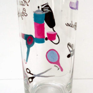 Hair Stylist Glass