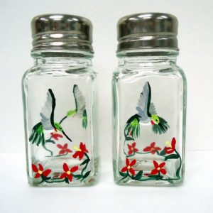 Hummingbird Salt and Pepper Shakers