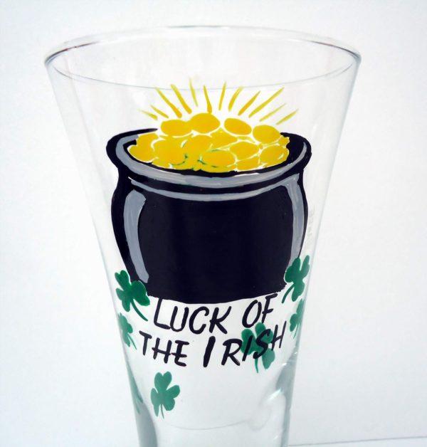 Luck of the Irish Pilsner Glass
