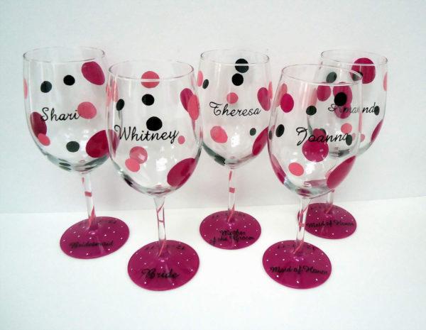 Personalized Wedding Glasses